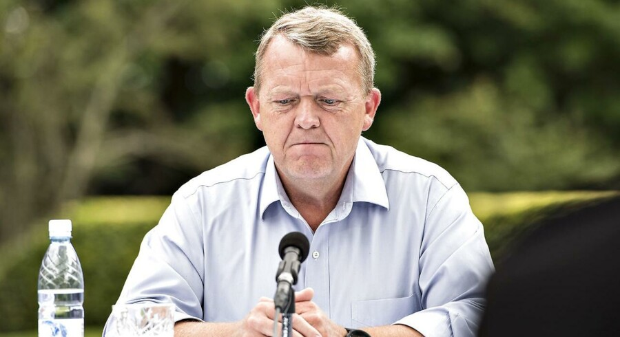 Løkke mener ikke, han gjorde uret i at henvise til en endnu ikke offentliggjort beretning fra Rigsrevisionen.