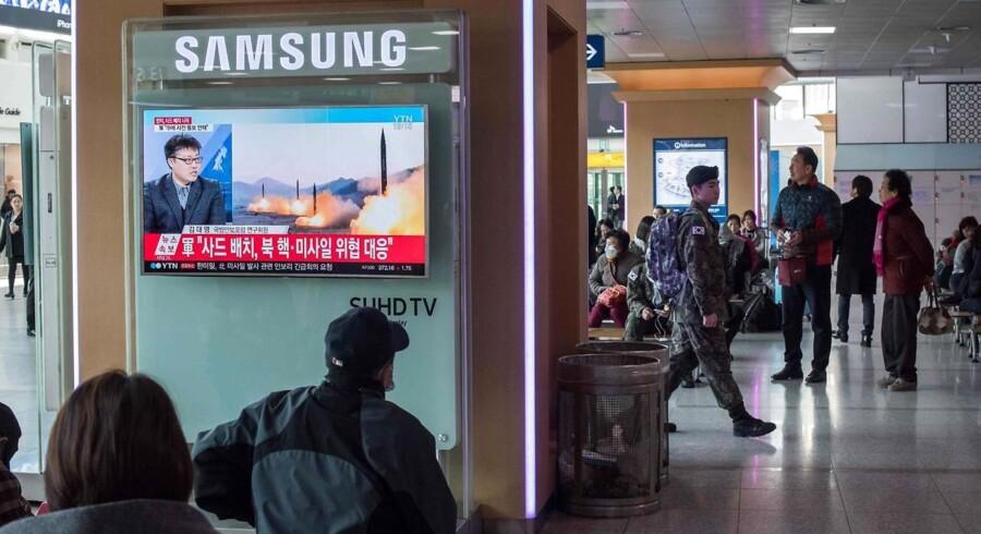 Nordkorea forbyder malaysiske statsborgere at rejse ud af landet. Det oplyser det nordkoreanske statsmedie, KCNA.