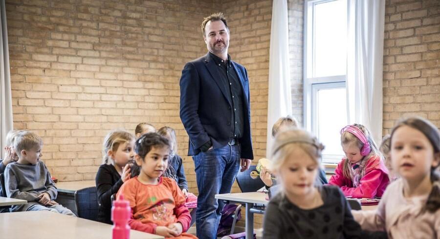 Helsinge Realskole placerer sig i toppen af Cepos' liste over de danske skolers evne til at løfte eleverne. På billedet troner skoleleder Jeppe Møller Tobberup.