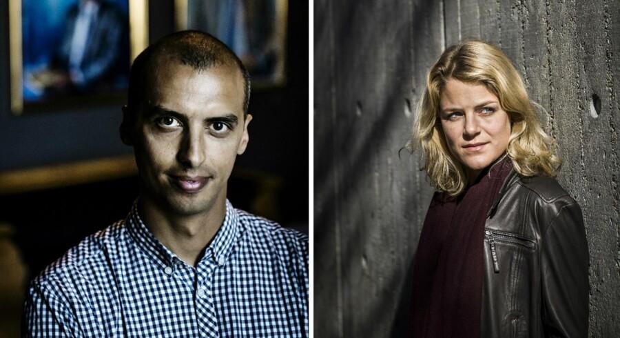 Mattias Tesfaye og Johanne Schmidt-Nielsen er uenige om, hvorvidt indfødsretsprøven skal eksistere eller ej.