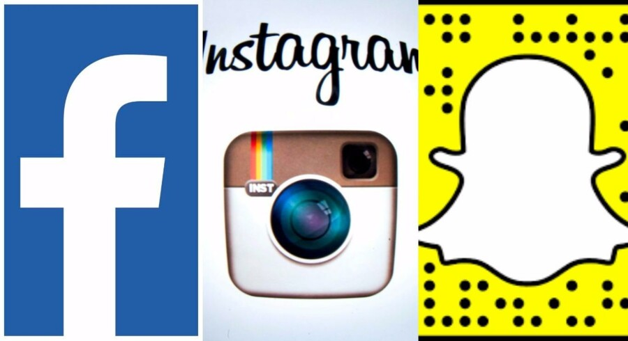 Der er kamp om de unge - og den står Facebook til at tabe. For teenagerne søger mod Snapchat og - heldigvis for Facebook - Instagram, som Facebook også ejer. Arkivfoto: Lionel Bonaventure, Scanpix