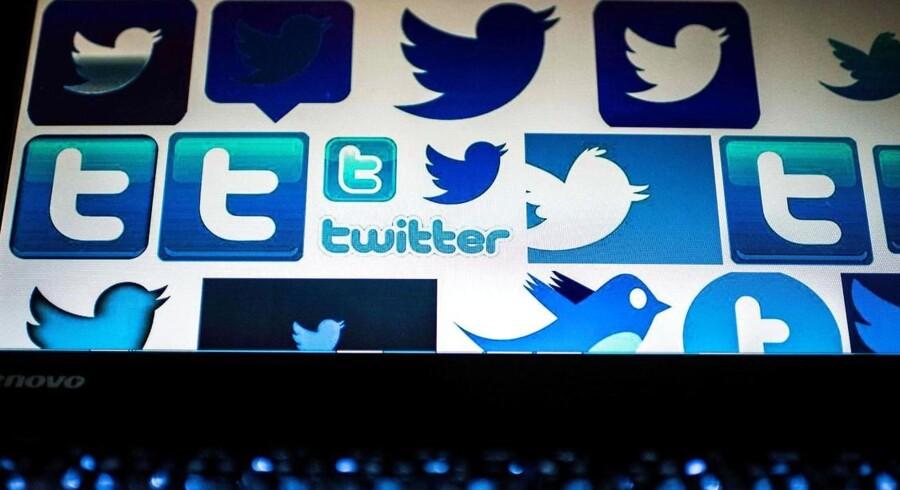 Twitter har nu to kvartaler i træk haft overskud. Arkivfoto: Nicolas Asouri, AFP/Scanpix