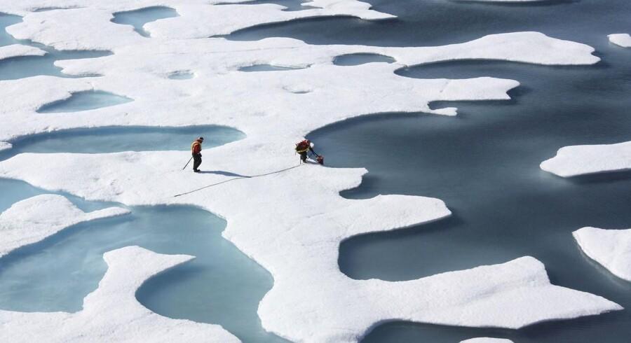 Arkivfoto: Et nyt studie afslører, hvordan tøende arktisk tørv udleder store mængder nitrogenoxid – en »overset« drivhusgas, der er næsten 300 gange så potent som CO2.