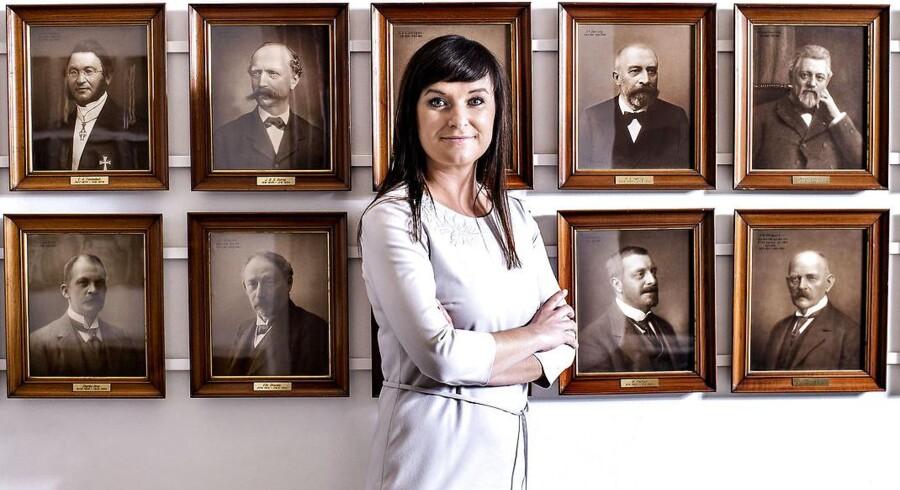 Sophie Løhde, minister for offentlig innovation, er efter et vist tilløb kommet op i fart i sit nye ministerium.
