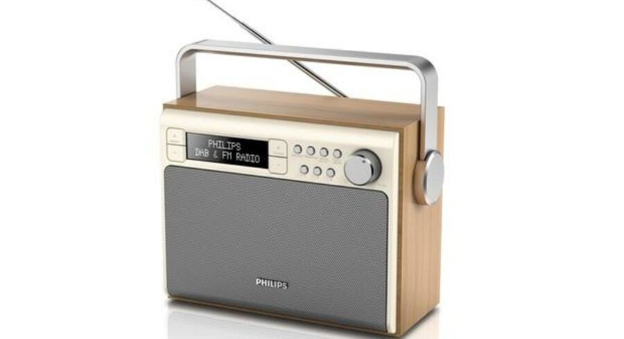 For en måned siden blev det digitale DAB-radionet i Danmark udvidet, så der blev plads til en række nye, landsdækkende kanaler. Nu er halvdelen af pladserne fyldt op - frem til 2029. Arkivfoto: Philips