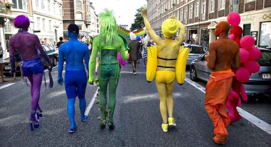 ARKIVFOTO 2012 af Copenhagen Pride- (Foto: Jens Nørgaard Larsen/Scanpix 2016)