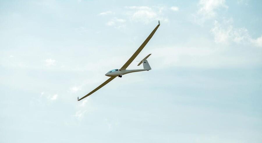 En svæveflyveklub har fået stjålet seks svævefly fra en hangar i Aars. De er muligvis bragt ud af landet. Foto: iris.