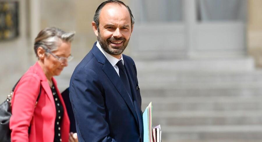 Édouard Philippe er en fransk jurist og politiker der siden 15. maj 2017 har varetaget rollen som Frankrigs premierminister, da præsident Emmanuel Macron udnævnte ham.