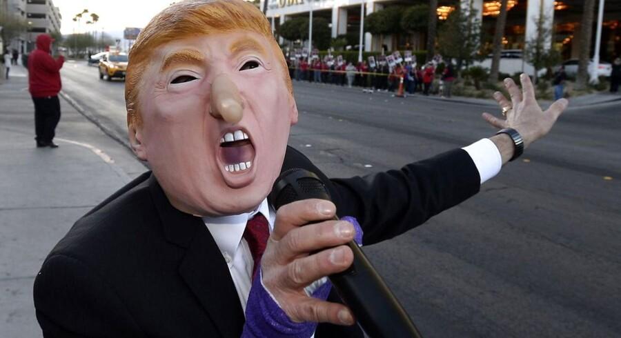 Donlad Trump vandt igen i nat.