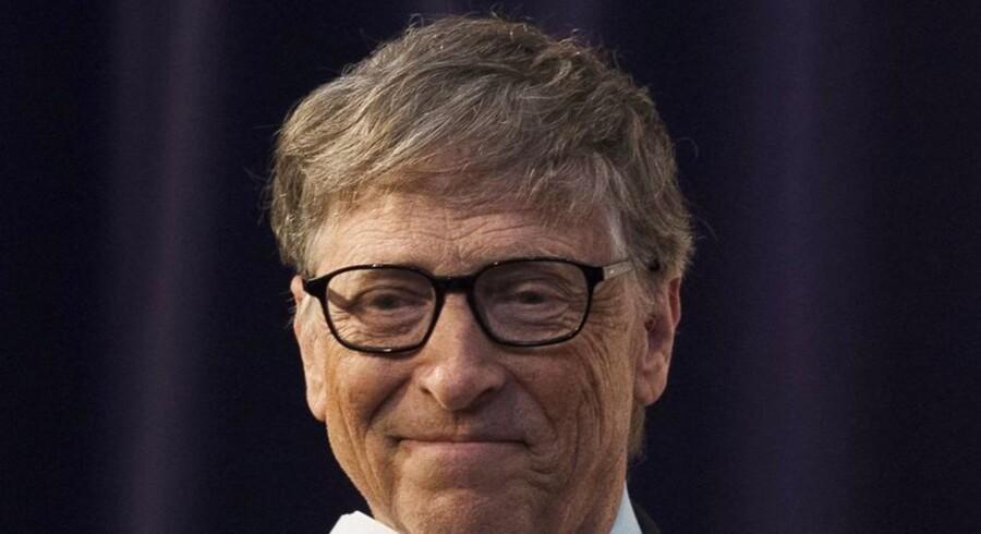 Bill Gates, medstifter af Microsoft og medstifter af den godgørende fond, Bill and Melinda Gates Foundation, er stærkt optaget af udviklingslandenes problemer. EPA/WILL OLIVER