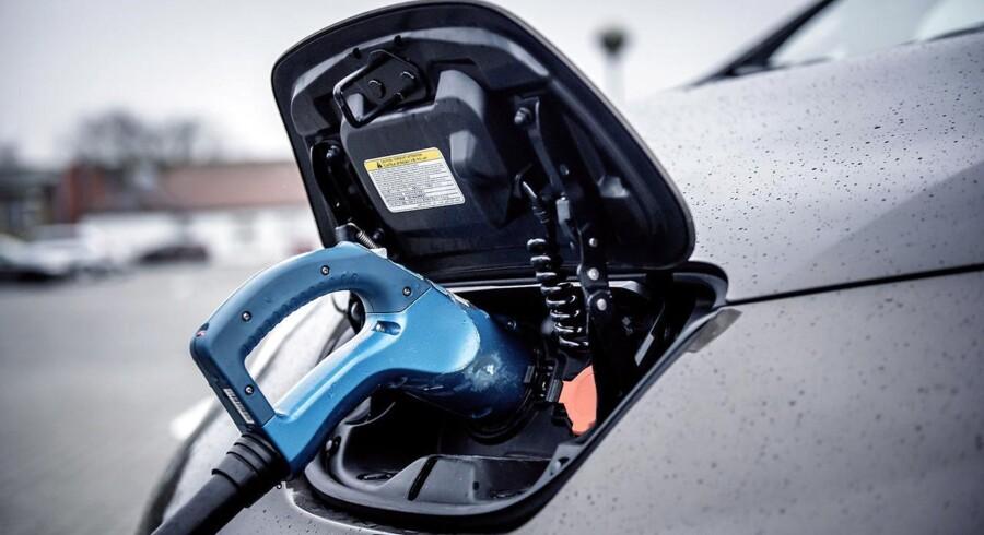 ARKIVFOTO: Salget af elbiler er kørt fast i Danmark, hvor der blev solgt syv elbiler i de første uger af maj.