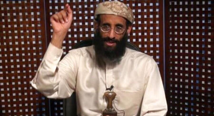 Anwar al-Awlaki var terrorleder hos al-Qaeda og amerikansk statsborger. Drabet på ham 30. september 2011 giver i øjeblikket anledning til hektisk debat i USA, hvor man forsøger at fastlægge de juridiske rammer for, at en amerikansk præsident kan beordre drab på egne statsborgere. Arkivfoto: AFP