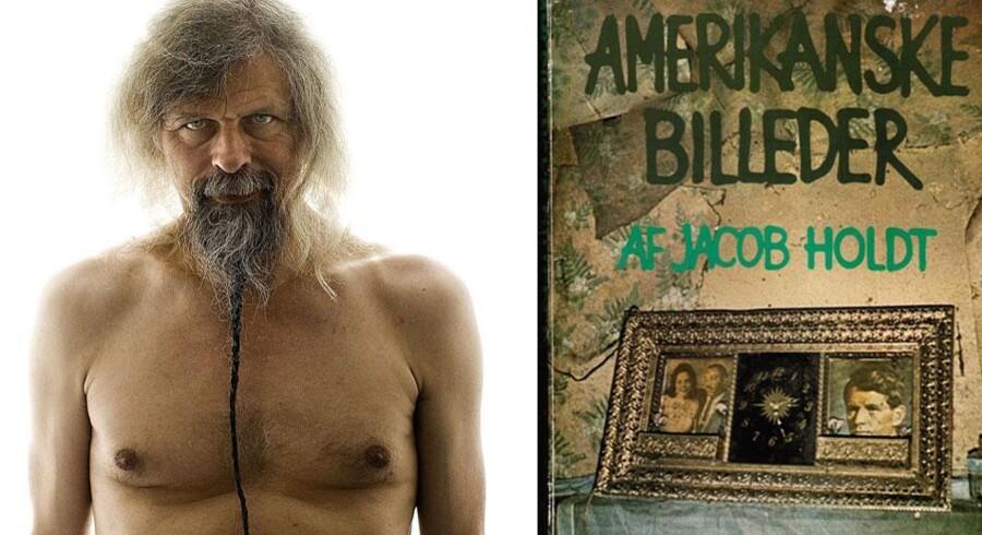 Jacob Holdt fotograferet af Søren Bidstrup i 2007/Forside af hans bog Amerikanske Billeder.
