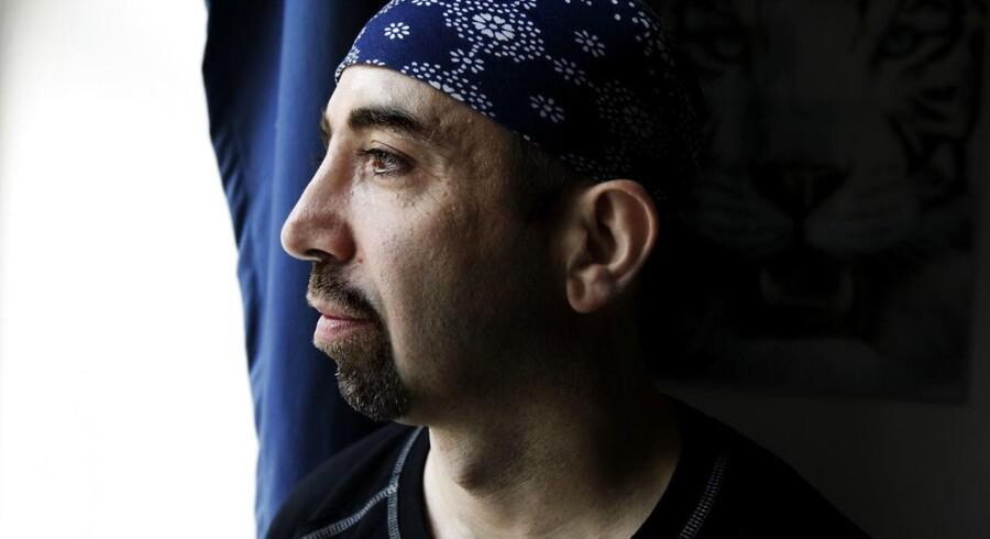 ARKIV: Bandeleder for den Internationale Klub, Danny Abdalla.