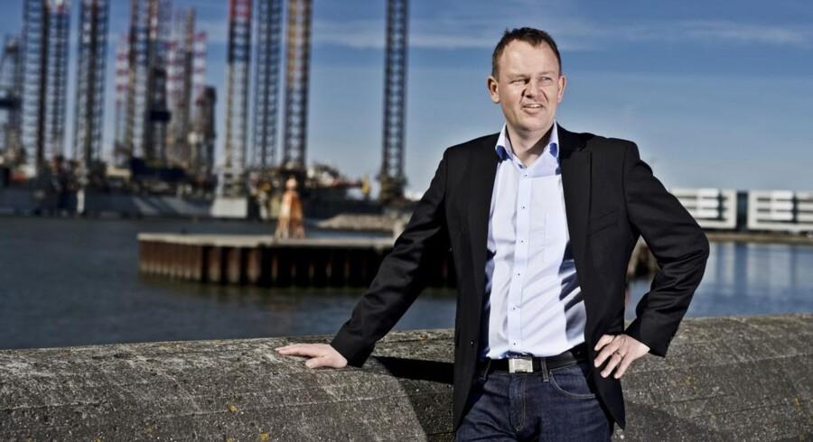Borgmesterkandidat og viceborgmester i Esbjerg Kommune Jesper Frost Rasmussen er på forsiden af Ugeavisen Esbjergs fejlbehæftede annonceopslag. Foto: Christer Holte