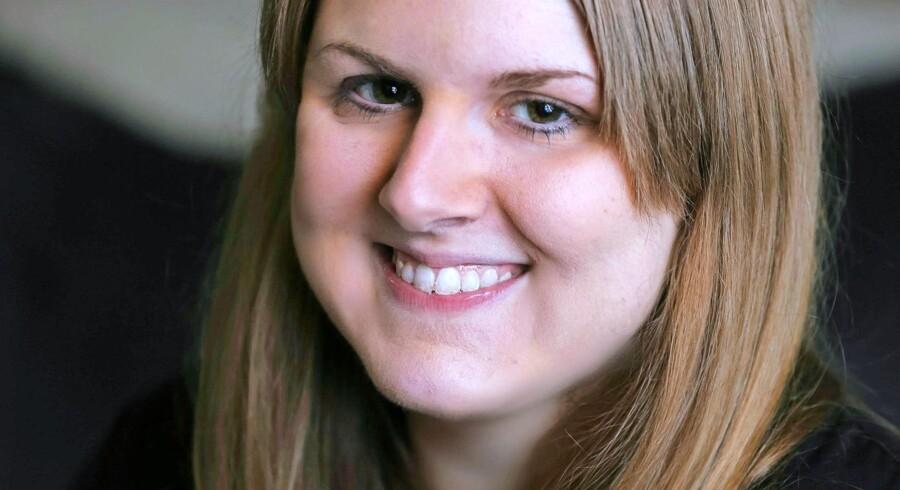 Allison Bailey blev ramt af diabetes som 12-årig og benytter sig hver dag af Novo-midlet Novolog. Foto: Elizabeth Bennett