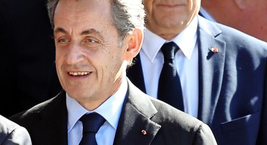 Den tidligere premierminister, Alain Juppé, her bag tidligere præsident Nicolas Sarkozy, ønsker ikke at deltage i kampen om præsidentposten. Foto: Valery Hache/AFP