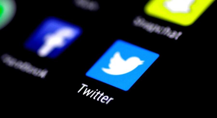 Pippene - eller tweetene - på USAs præsident Donald Trumps yndlingsmedie, Twitter, bliver nu fordoblet i længde. Om det også vil gælde præsidenten, ved ingen, for endnu er det en test blandt tilfældigt udvalgte brugere. Arkivfoto: Thomas White, Reuters/Scanpix