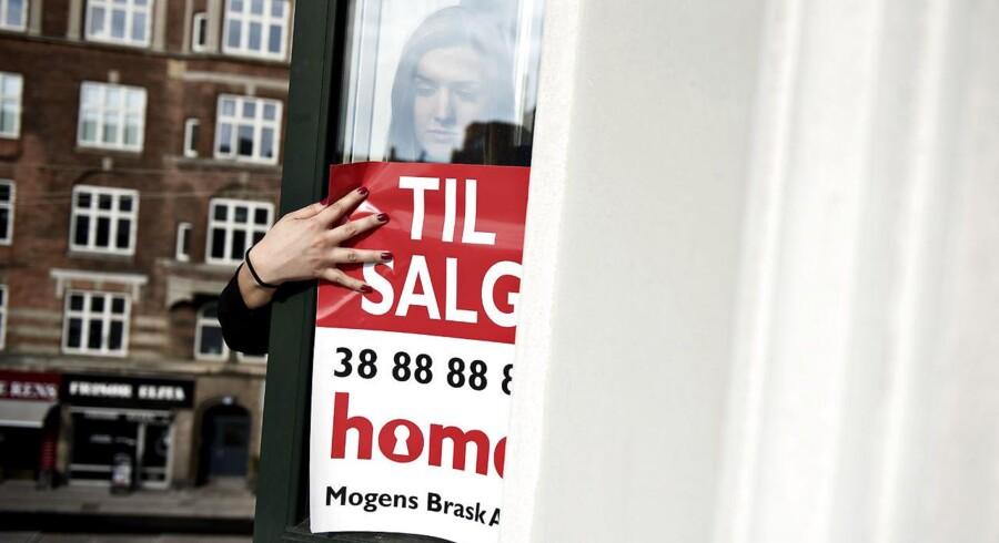 Nye krav til boliglån rammer folk med høj gæld og lav friværdi i form af begrænsninger på de mest risikable låntyper. Arkivfoto: Mathias Bojesen/Scanpix 2017