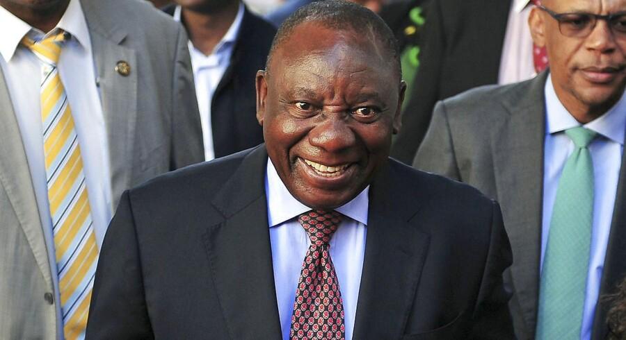 Sydafrikas parlament har torsdag eftermiddag valgt Cyril Ramaphosa som landets nye præsident.