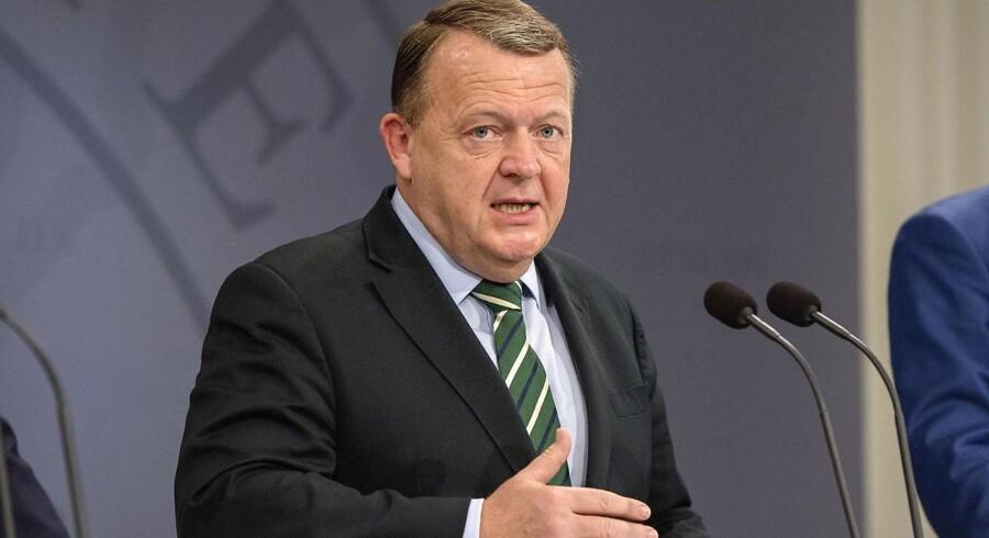 Statsminister Lars Løkke Rasmussen præsenterer i dag nye ministre i sin regering.