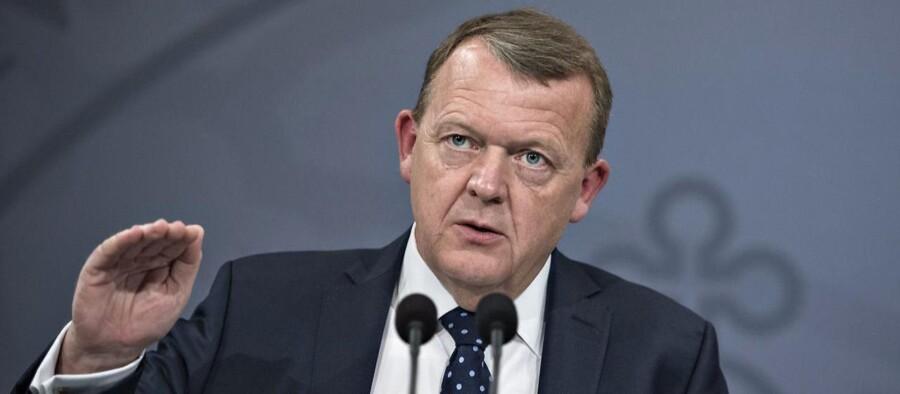 Statsminister Lars Løkke Rasmussen (V) og resten af VLAK-regeringen er nu klar med sit bud på en finanslov for 2018.