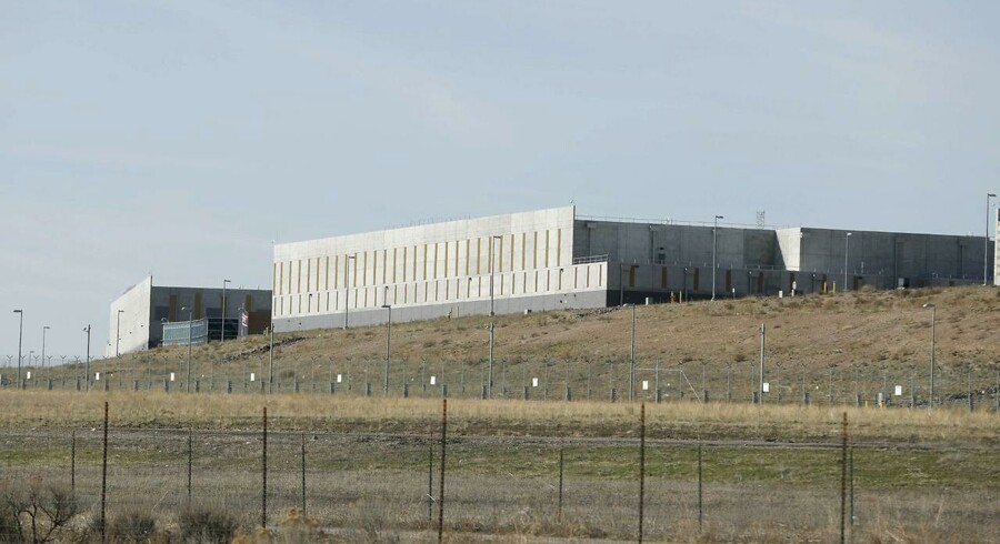 Arkivfoto: NSA's data center i Utah.