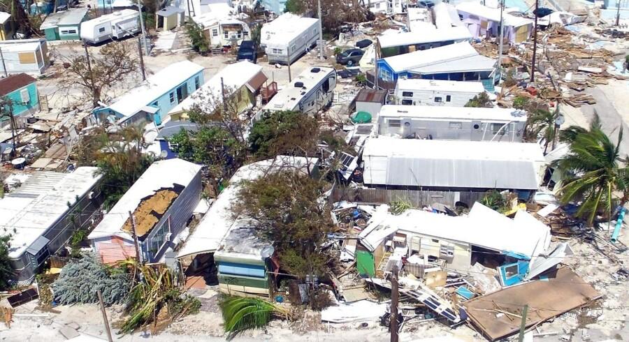 Mindst 27 er døde i Florida som følge af orkanen Irma.