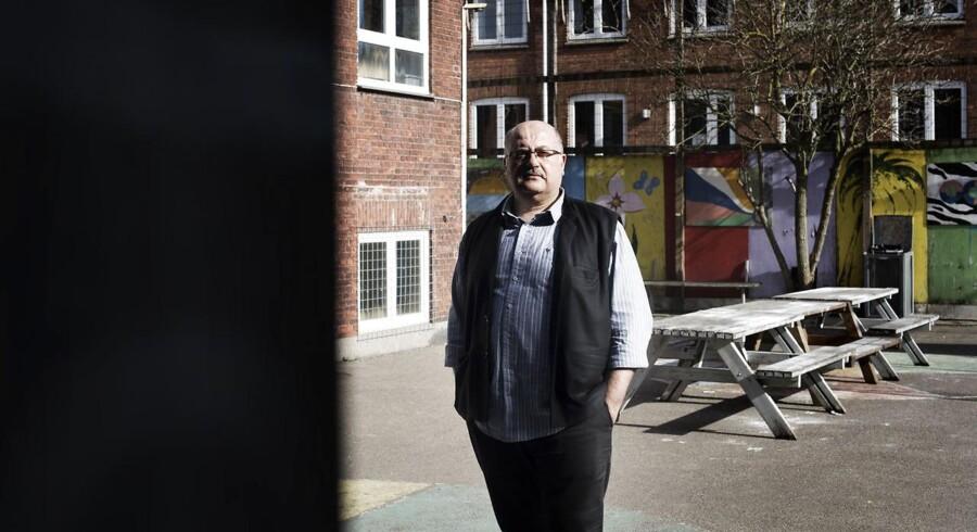 Sami Kücükakin på Salix-Skolen i Valby.