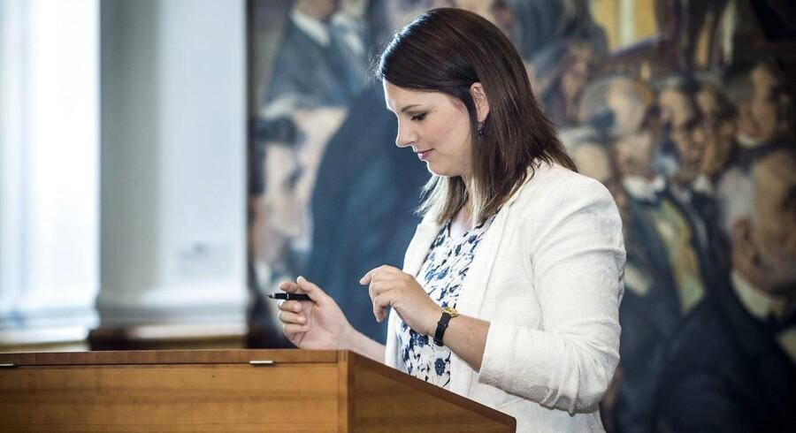 Arkivfoto: Efter Mette Abildgaards indberetning opstod der tvivl om, hvorvidt det var hende eller Folketinget, der havde indberetningspligten.