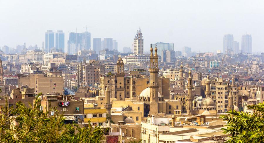 Officielt rummer Egyptens hovedstad godt 16 millioner indbyggere inklusive forstæder. Foto: Scanpix