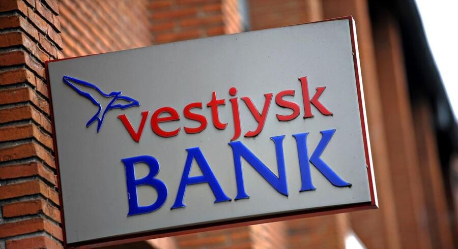 Arkivfoto. Vestjysk Bank.