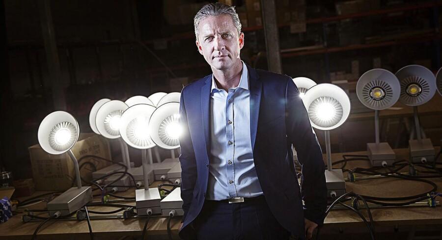 Hesalights investorer vil forfølge oplysninger om, at Hesalight-stifter Lars Nørholt (billede) har købt ejendomme for et stort millionbeløb på Mallorca. PR-foto