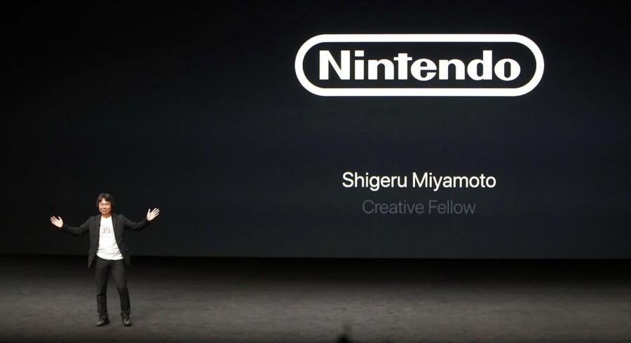 Shigeru Miyamoto, en af de japanske medarbejdere bag Nintendo.