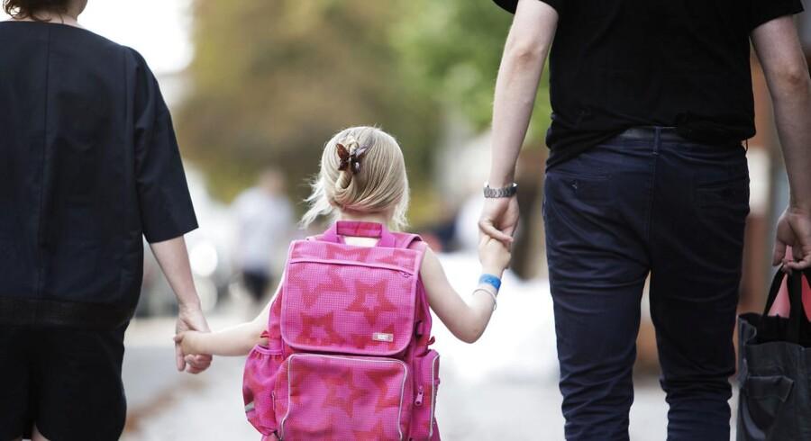 ARKIVFOTO. Ny undersøgelse fra Kraka viser, at familiemæssig baggrund har en stigende betydning for, hvordan man klarer sig som voksen.