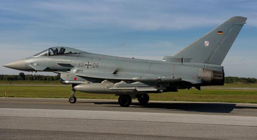 Eurofighter Typhoon, som kandiderer til at afløse F16-fly i Danmark, er ramt af fejl.
