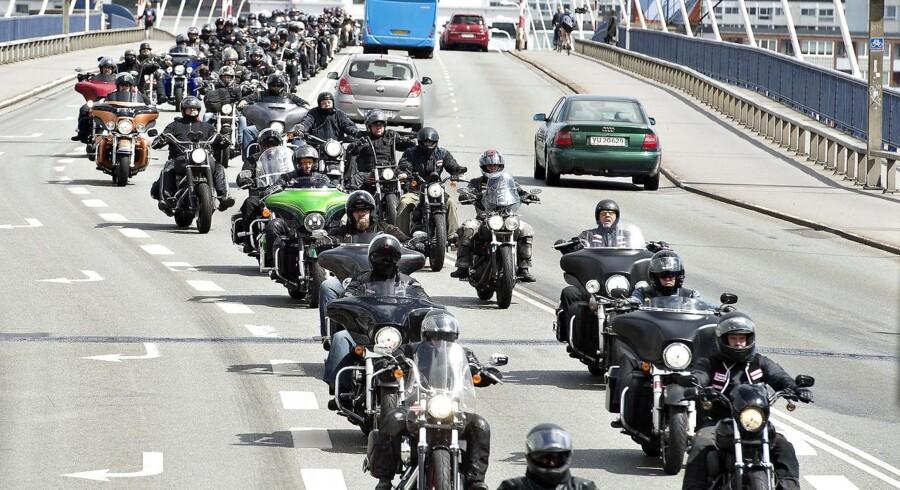 Man prøver at lave et skræmmebillede, siger motorcykelformand efter ulykkestal fra Rådet for Sikker Trafik.