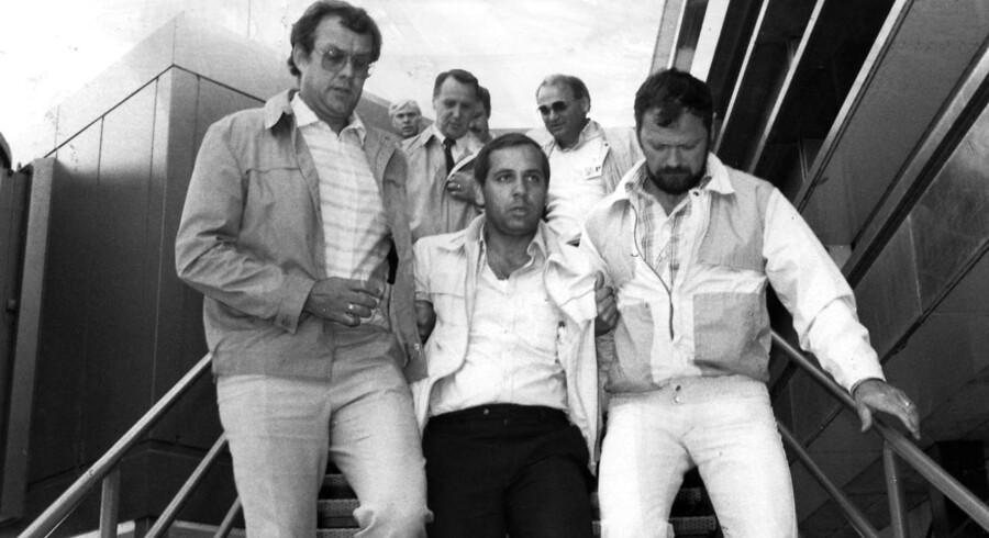 Naum Conevski anholdes i Kastrup. Arkivfoto