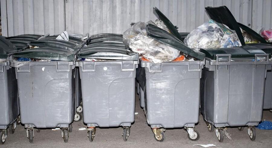 Arkivfoto: Erhvervsdrivende vil ikke betale gebyr for kommunal affaldsordning og lægger sag an mod Københavns Kommune.