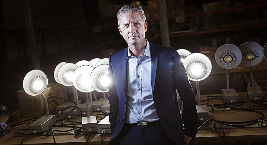 Administrerende direktør og stifter af Hesalight Lars Nørholt.