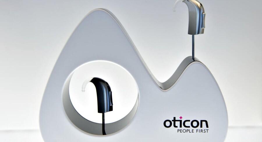 Høreapparatproducenten William Demant er mandag kommet stærkt fra start efter et flot halvårsregnskab, som bød på en opjustering på 100 mio. kr. (Foto: Jens Nørgaard Larsen/Scanpix 2017)