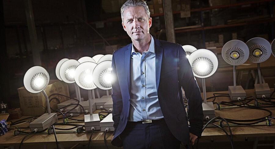Tidligere direktør i lampevirksomheden Hesalight, Lars Nørholt.
