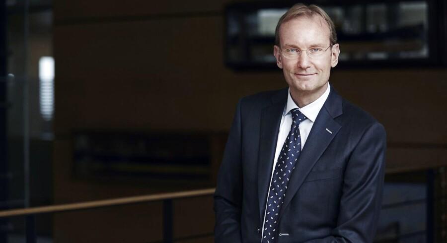 ARKIVFOTO: Niels Smedegaard adm. direktør i DFDS