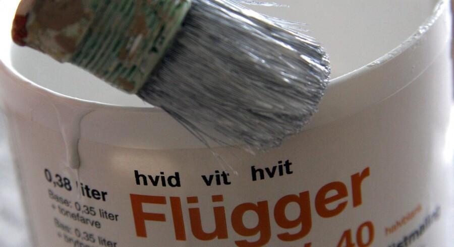 Flügger skal primært sælge til den professionelle maler.