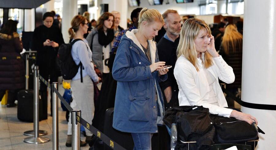 Mange overser muligheden for at høste en økonomisk kompensation på op mod 4.500 kroner, hvis de bliver forsinket på rejsen, fordi de misser deres forbindelsesfly. ARKIVFOTO.
