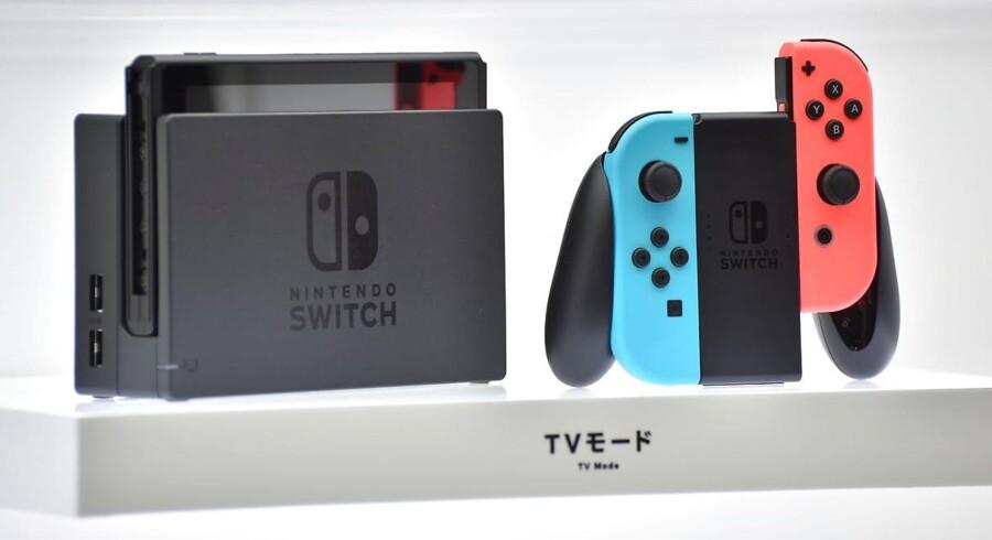 Nintendos nye spilkonsol, Switch, mest markante egenskab er, at den både kan bruges hjemme og tages med på farten.