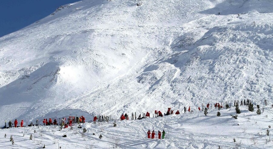 Arkivfoto: Skibyen Tignes, der ligger i Alperne omkring 10 kilometer fra grænsen til Italien, blev i marts rystet af en lavineulykke.