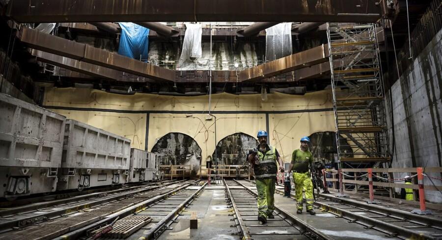 Københavns Politi har ikke kunne finde dokumentation for påstande om mafia og narko i forbindelse med byggeriet af den nye Metro-cityring.