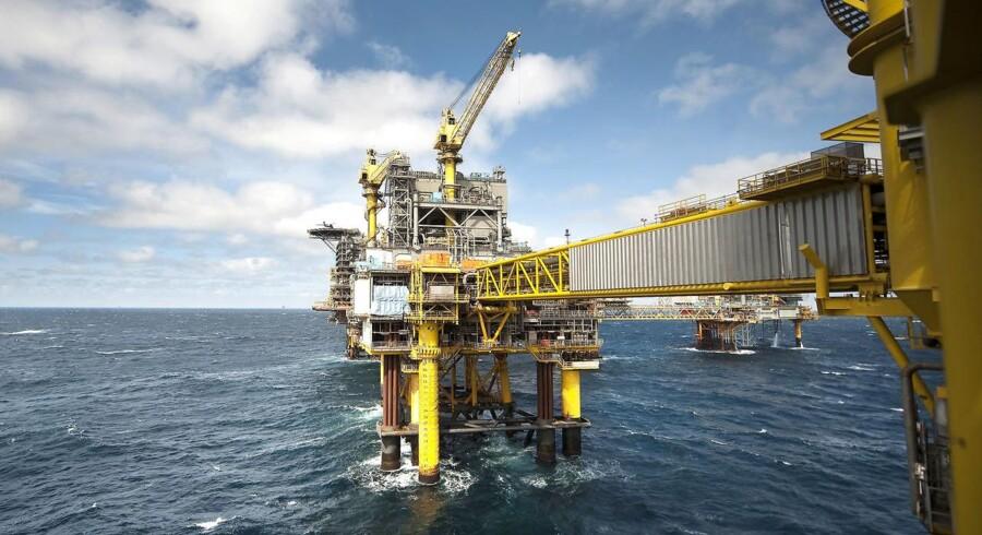 ARKIVFOTO: Mærsk Olie og Gas - Boreplatform Nordsøen Dan Feltet - Dan F.