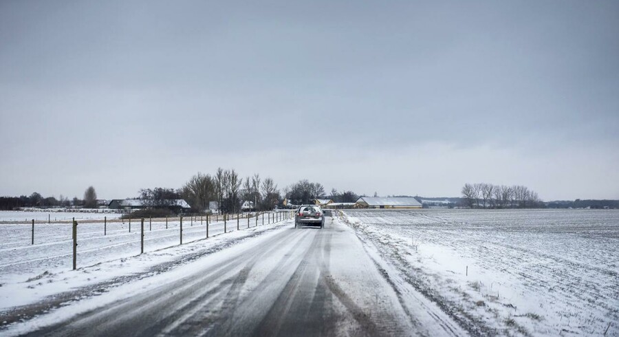 Sne og fygning giver problemer på Bornholm, men vinteren synger på sidste vers, lover meteorolog.